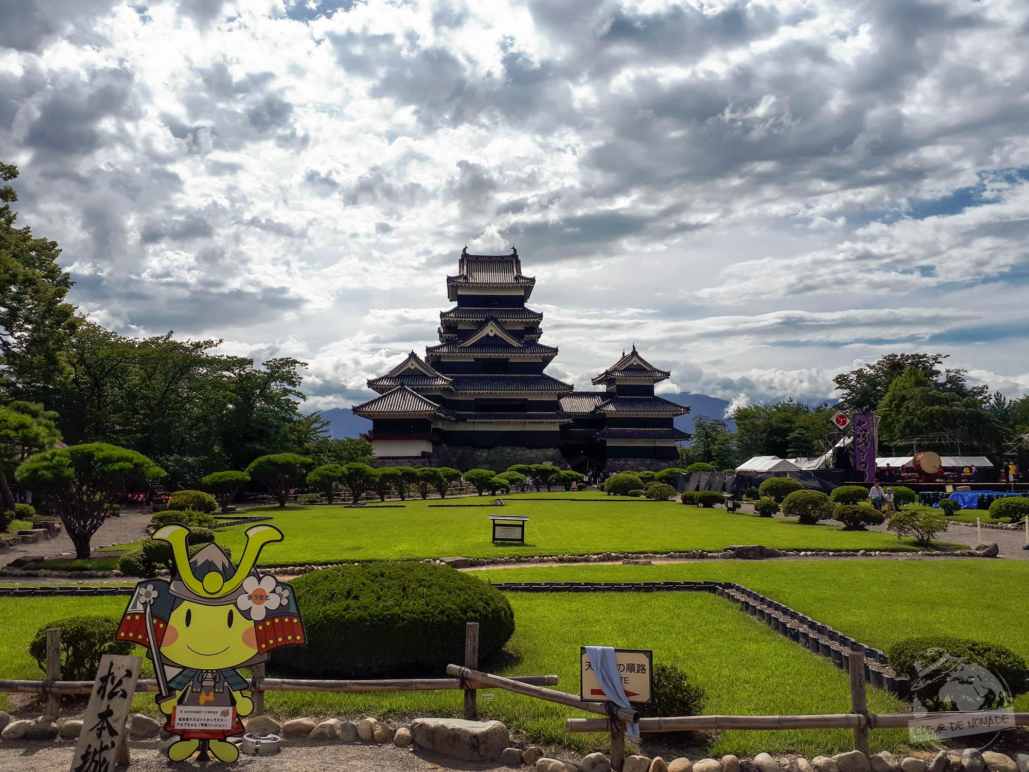 Château noir de Matsumoto