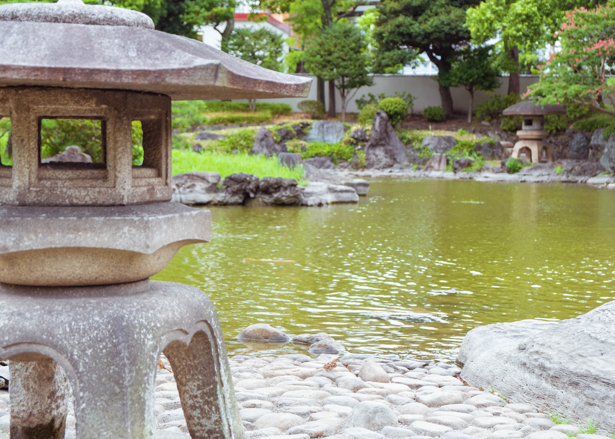 Jardin zen musée des katanas seki