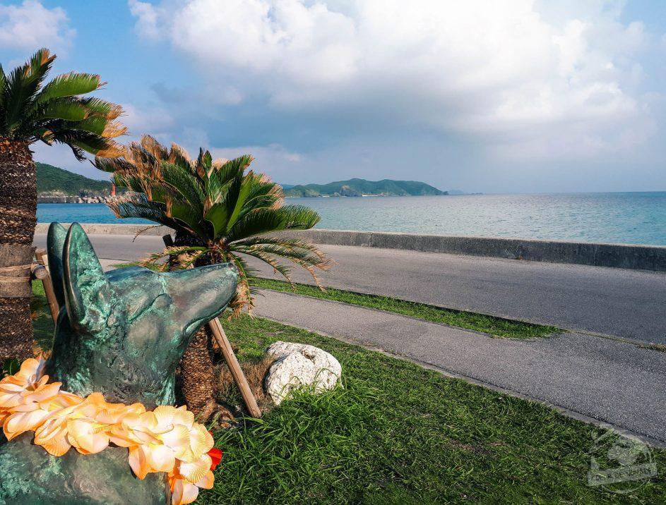 Statue de Marilyn sur l'île de Zamami / Marilyn's Statue on Zamami island, archipel d'Okinawa