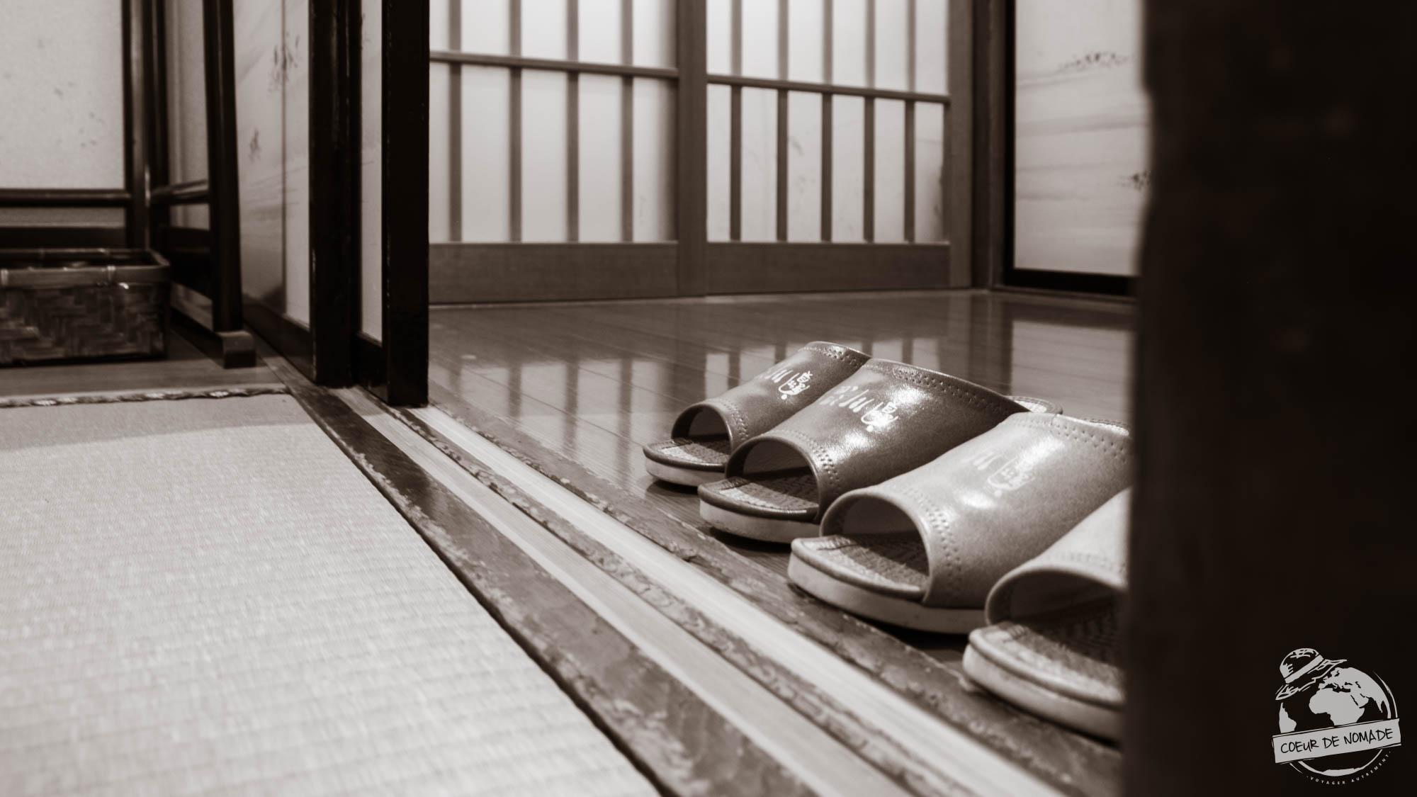 pantoufles japonaises