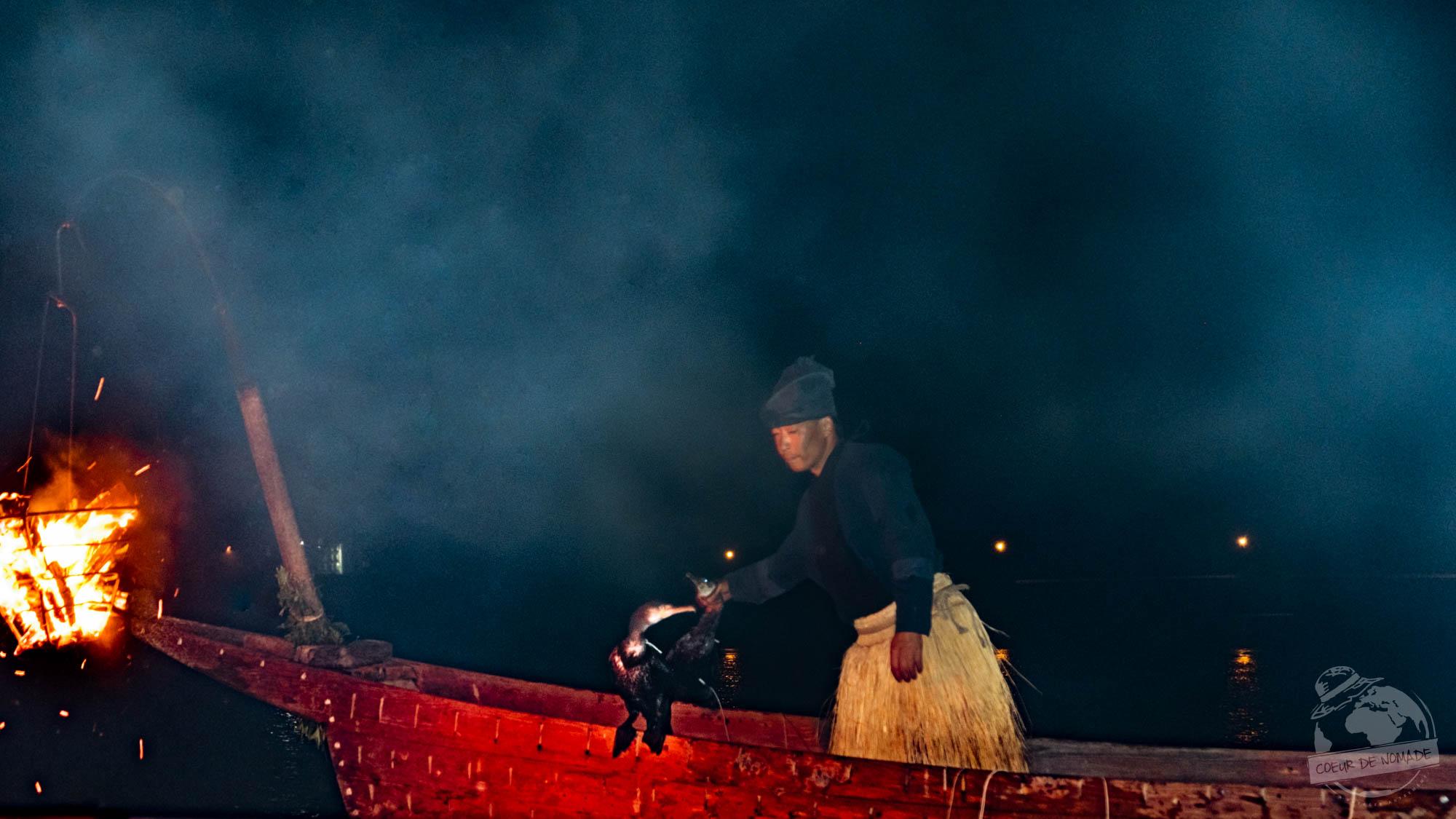Ukai, pêche traditionnelle japonaise