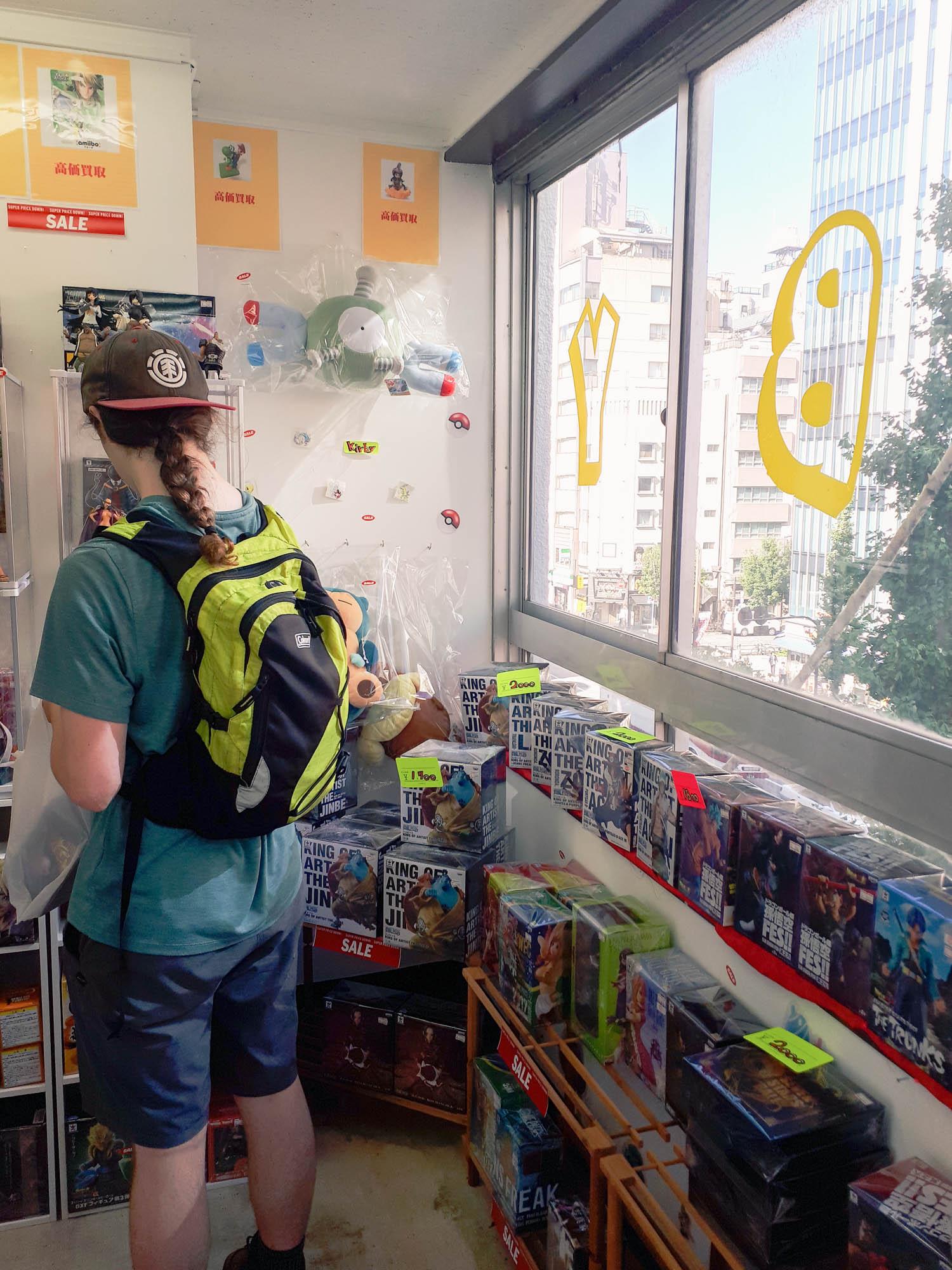la boutique de figurines