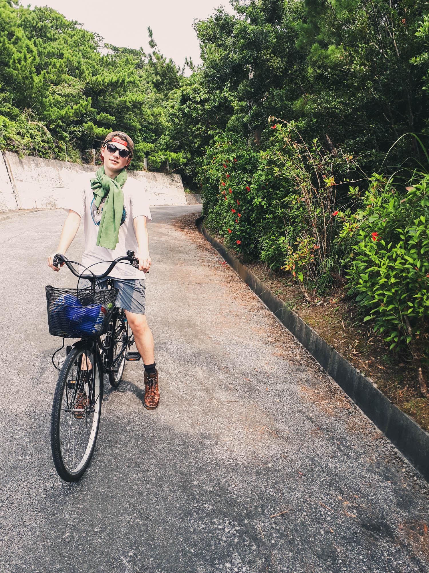 vélo en montagne zamami