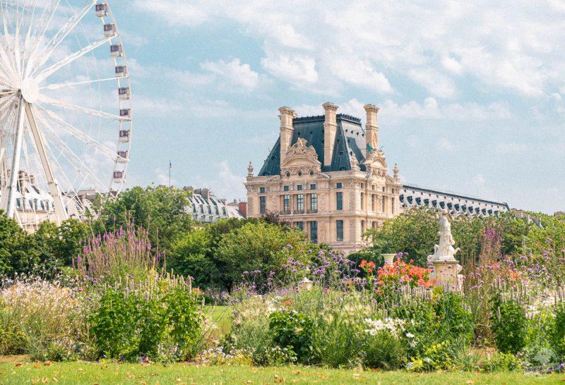 Jardins  (les tuileries)