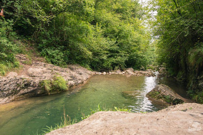 Rivière vert émeraude