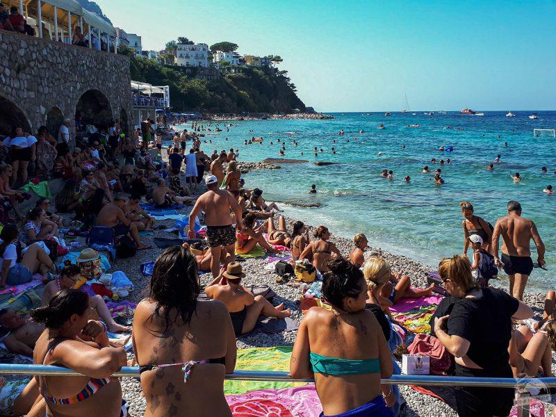 plage capri
