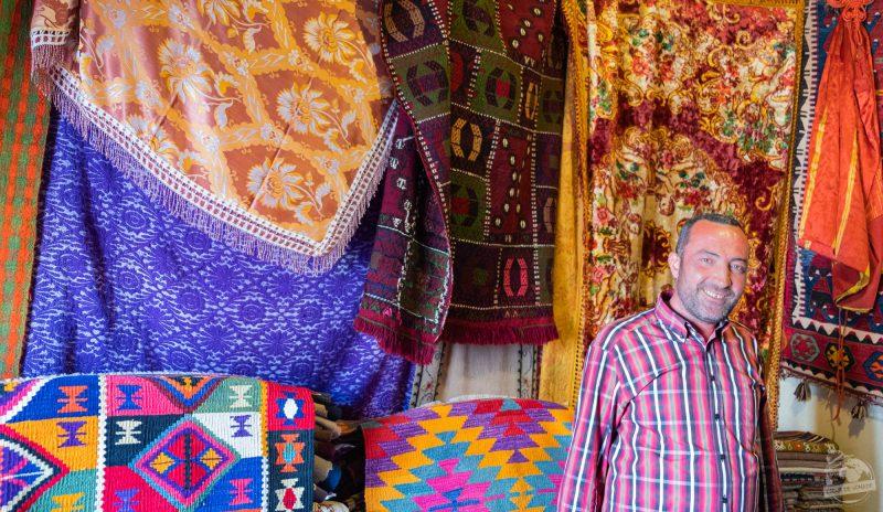 vendeur de tapis Konya