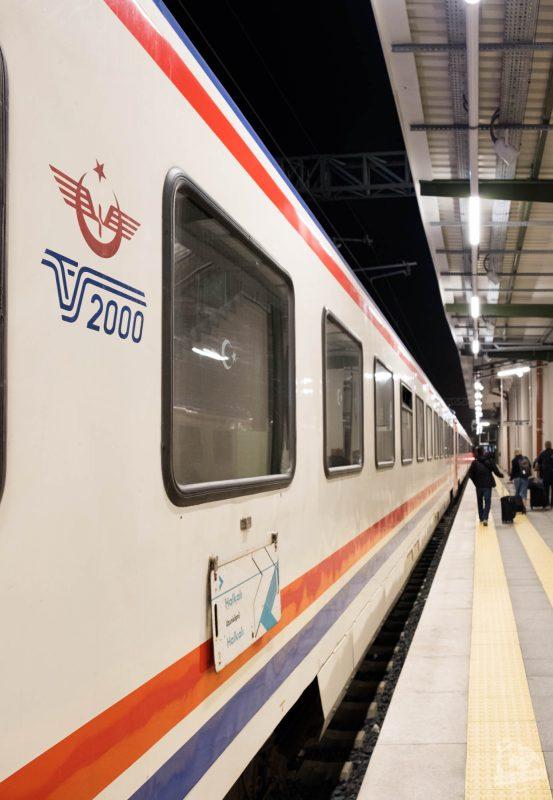 Train de nuit Istanbul-Sofia