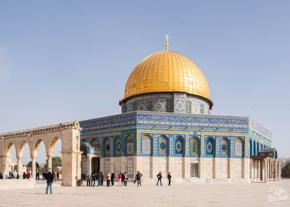 Dôme of the Rock Jérusalem