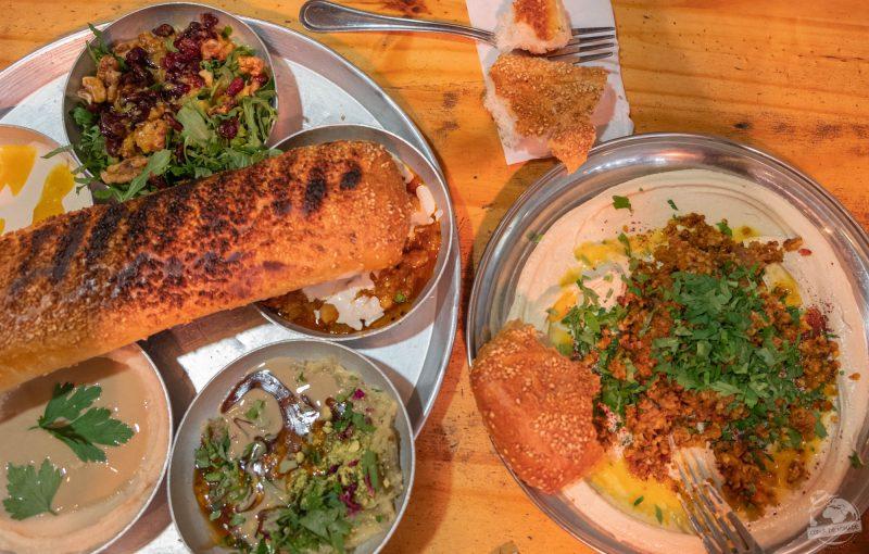 Last meal in Tel Aviv