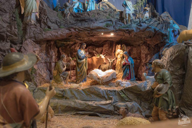 Messe de Noël en arabe dans Jérusalem