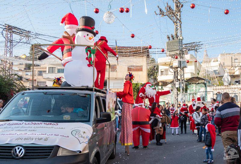 Parade de Noël à Nazareth (23 décembre)