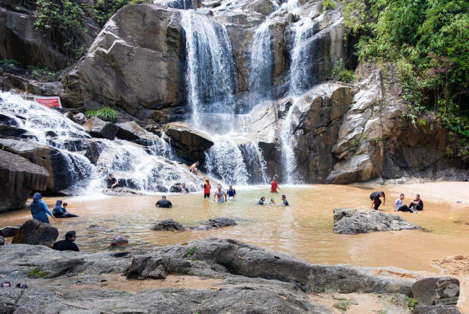 Sungai Pandan waterfall